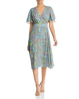 Le Gali - Miriam Paisley-Print Midi Dress - 100% Exclusive