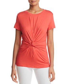 Kenneth Cole - Knot-Front Top