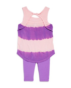 Splendid - Girls' Tie-Dyed Tank & Leggings Set - Baby