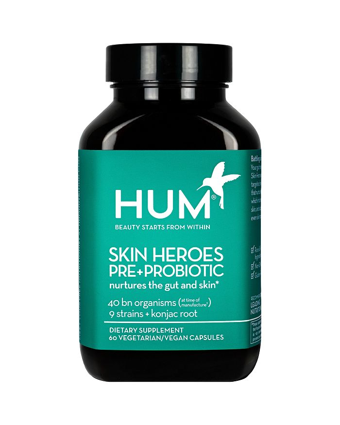 HUM Nutrition - Skin Heroes Pre+Probiotic Clear Skin Supplement