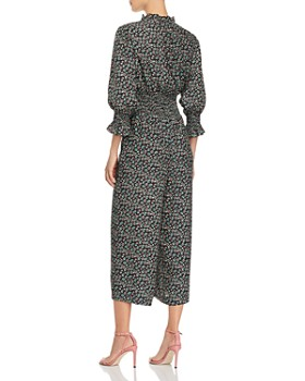 Rebecca Taylor - Louisa Floral-Print Silk Jumpsuit