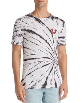 True Religion - Void Tactics Tie-Dyed Graphic Tee