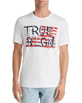 True Religion - Logo Flag Graphic Tee