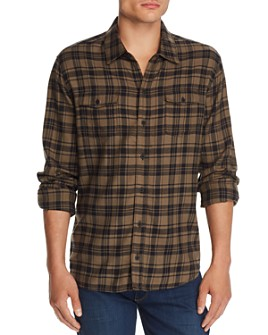 PAIGE - Everett Plaid Regular Fit Flannel Shirt
