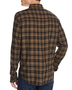 PAIGE - Everett Plaid Regular Fit Flannel Shirt