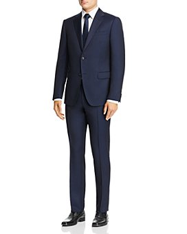 Z Zegna - Solid Slim Fit Wool Suit