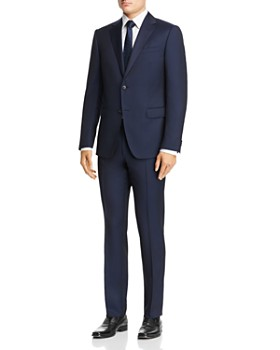 Z Zegna - Solid Slim Fit Wool Suit
