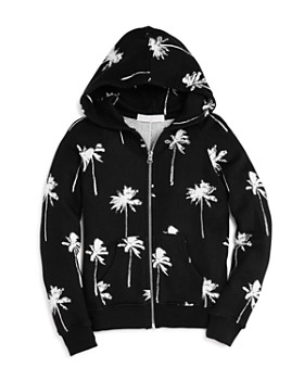 Spiritual Gangster - Girls' Palm Tree Hoodie - Big Kid