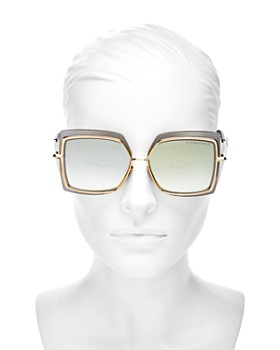 Dita - Women's Narcissus Oversized Square Sunglasses, 58mm
