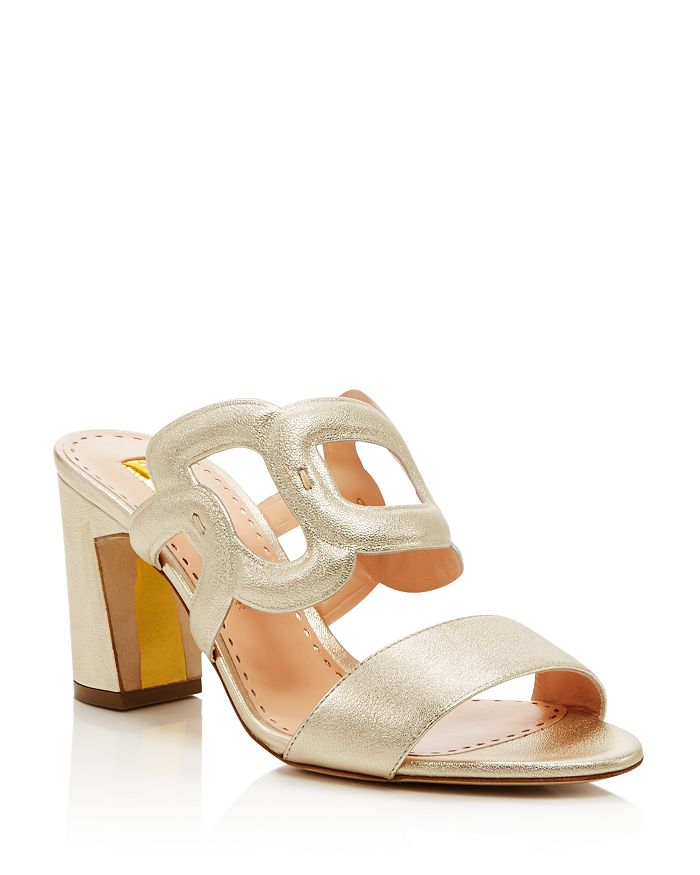 Rupert Sanderson - Women's Angelica Block Heel Sandals