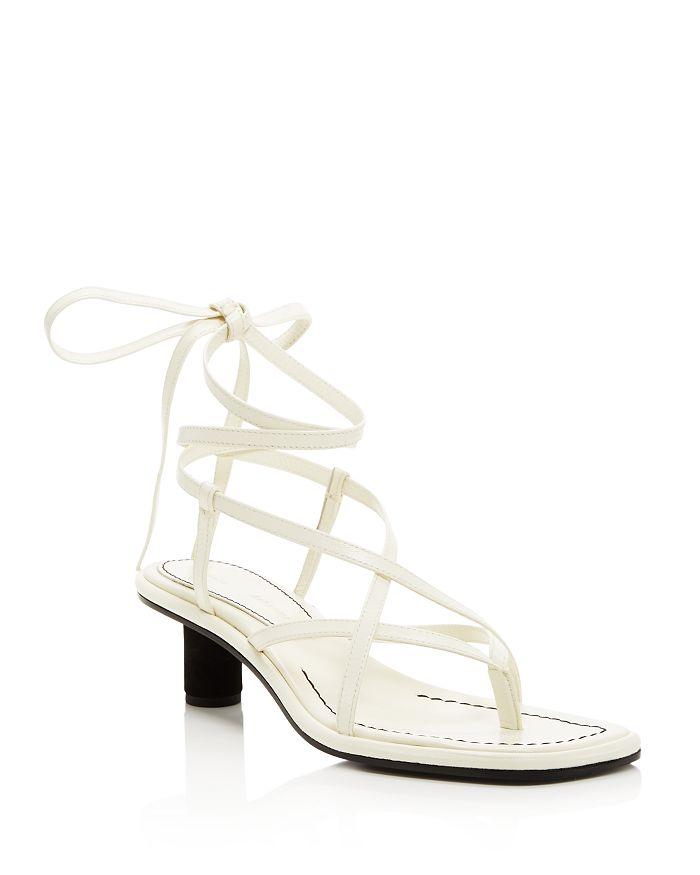 Proenza Schouler - Women's Strappy Mid-Heel Sandals