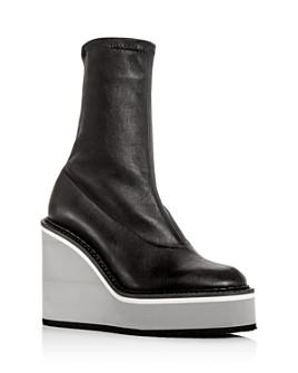 Clergerie - Women's Bliss Platform Wedge Boots