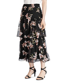 Ralph Lauren - Tiered Floral-Print Skirt