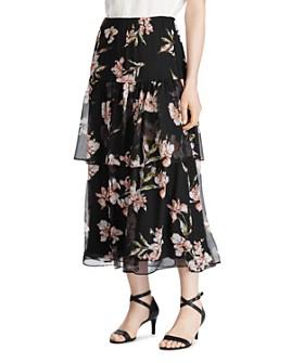 Ralph Lauren - Tiered Floral-Print Skirt
