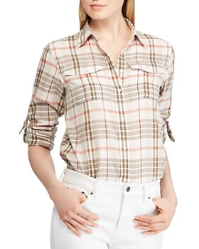 Ralph Lauren - Plaid Roll-Tab Shirt