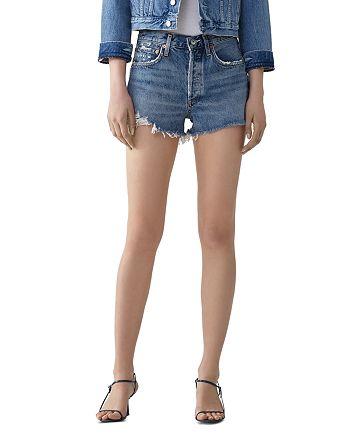 AGOLDE - Parker High-Rise Cutoff Jean Shorts