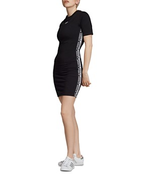 Adidas - Logo-Trim T-Shirt Dress