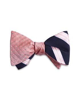 cf01e834b Brooks Brothers - Stripes Reversible Bow Tie ...