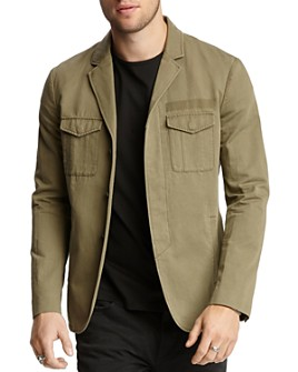 John Varvatos Collection - Army Cargo Slim Fit Jacket