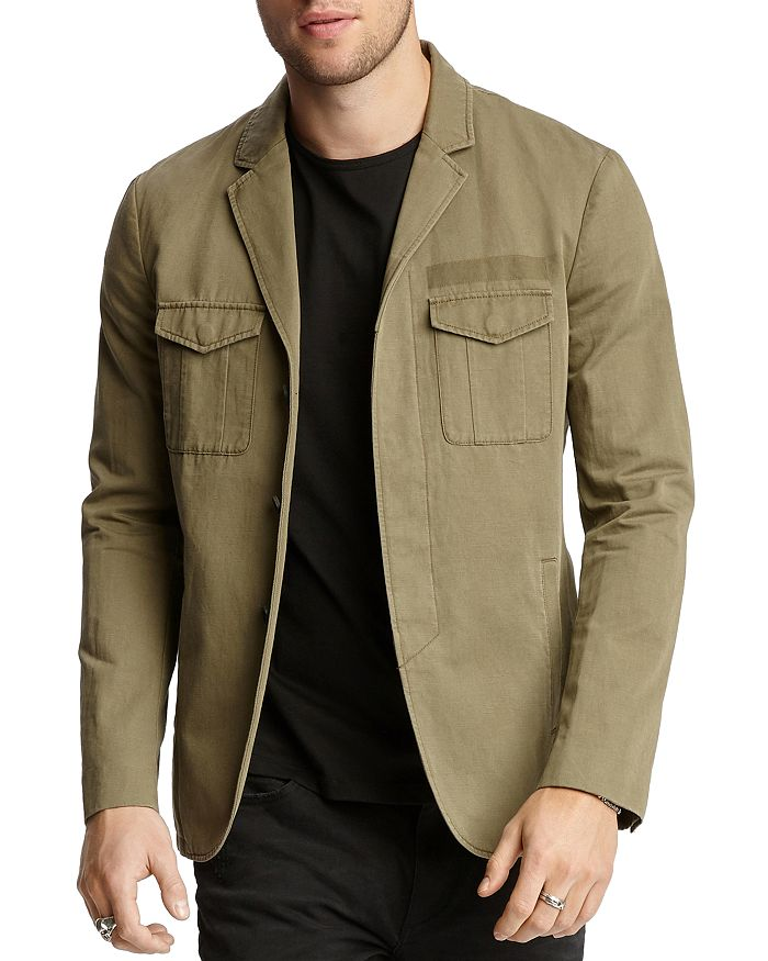John Varvatos Collection - Army Cargo Slim Fit Jacket