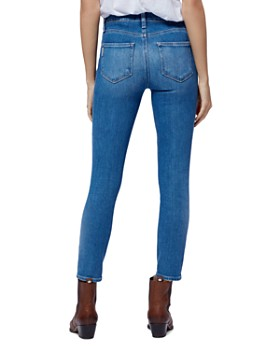 PAIGE - Hoxton Cropped Jeans in Renzo