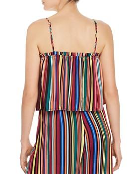 AQUA - Rainbow-Stripe Top - 100% Exclusive
