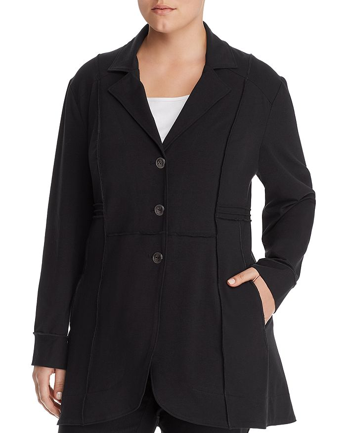 NIC and ZOE Plus - Exposed Seam Jacket