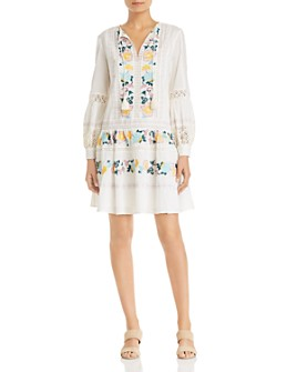 Tory Burch - Boho Embroidered Dress