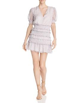 The East Order - Behati Tiered Ruffle Mini Dress