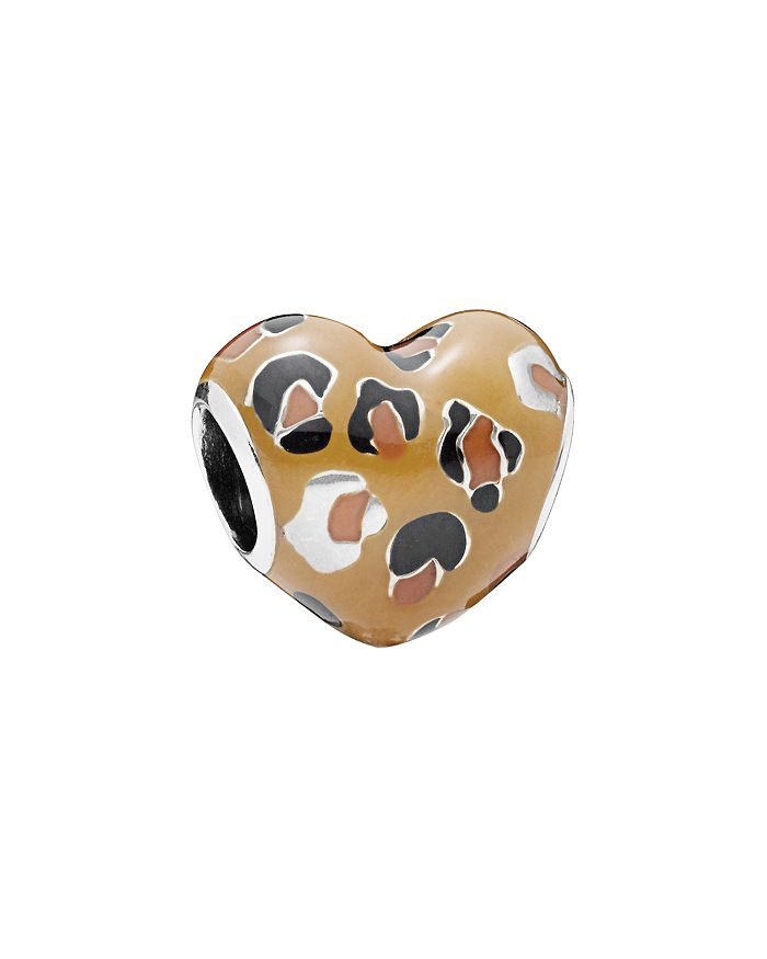 Pandora - Sterling Silver Spotted Heart Charm