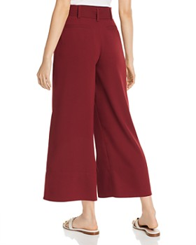 Joie - Djuna Cropped Wide-Leg Pants