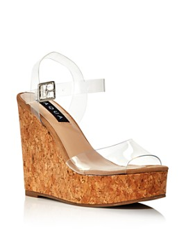 AQUA - Women's Cute Wedge Heel Sandals - 100% Exclusive