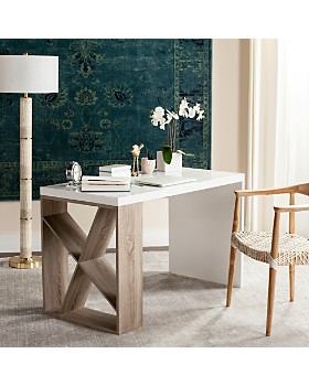 SAFAVIEH - Couture Carlene Modern Scandinavian Side Storage Desk