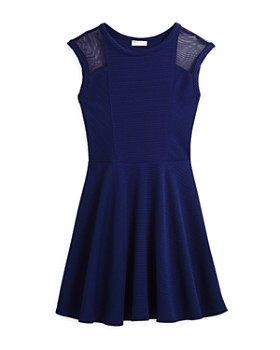Sally Miller - Girls' Mesh Cutout Dress - Big Kid