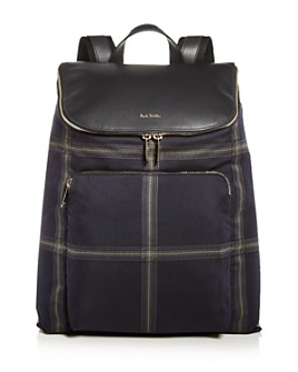 Paul Smith - Windowpane Check Backpack