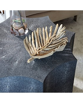 SAFAVIEH - Napa Faux Shagreen End Table
