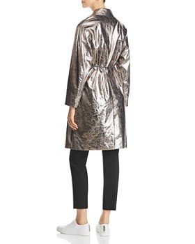 Fabiana Filippi - Textured Metallic Trench