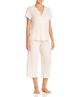 Eberjey - Gisele Short Sleeve Crop Pajama Set