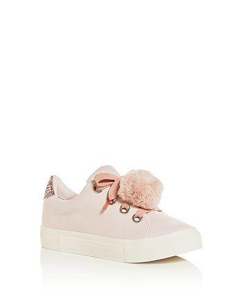 Dolce Vita - Girls' Cardi Pom-Pom Low-Top Sneakers - Toddler, Little Kid, Big Kid