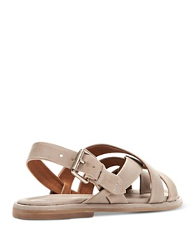 Frye - Women's Tait Softy Criss-Cross Strappy Sandals