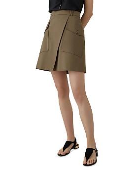 KAREN MILLEN - Utility A-Line Skirt