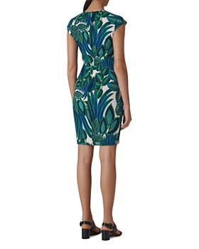 Whistles - Leaf-Printed Dress