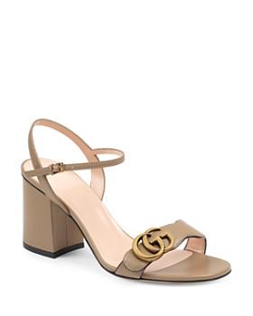 26f8890e5 Gucci - Women's Marmont Open-Toe Sandals ...