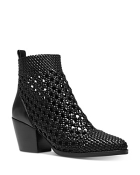 MICHAEL Michael Kors - Women's Augustine Woven Leather Booties