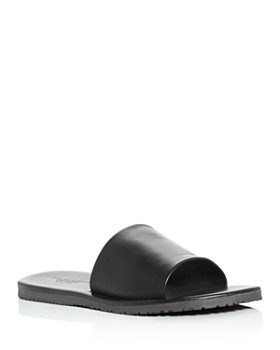 The Men's Store at Bloomingdale's - Men's Leather Slide Sandals - 100% Exclusive