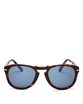Persol - Men's Steve McQueen™ Polarized Foldable Round Sunglasses, 54mm