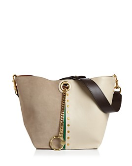 See by Chloé - Gaia Color-Block Shoulder Bag