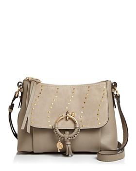 See by Chloé - Joan Studded Leather Shoulder Bag