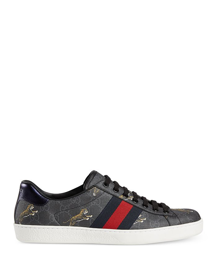 d21f2f51 Men's Ace GG Supreme Tiger Low-Top Sneakers