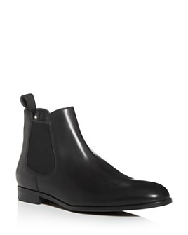 Armani - Men's Leather Chelsea Boots